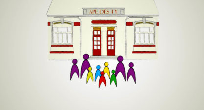 Collecte de papiers organisée par l'association des parents d'élèves d'Emagny