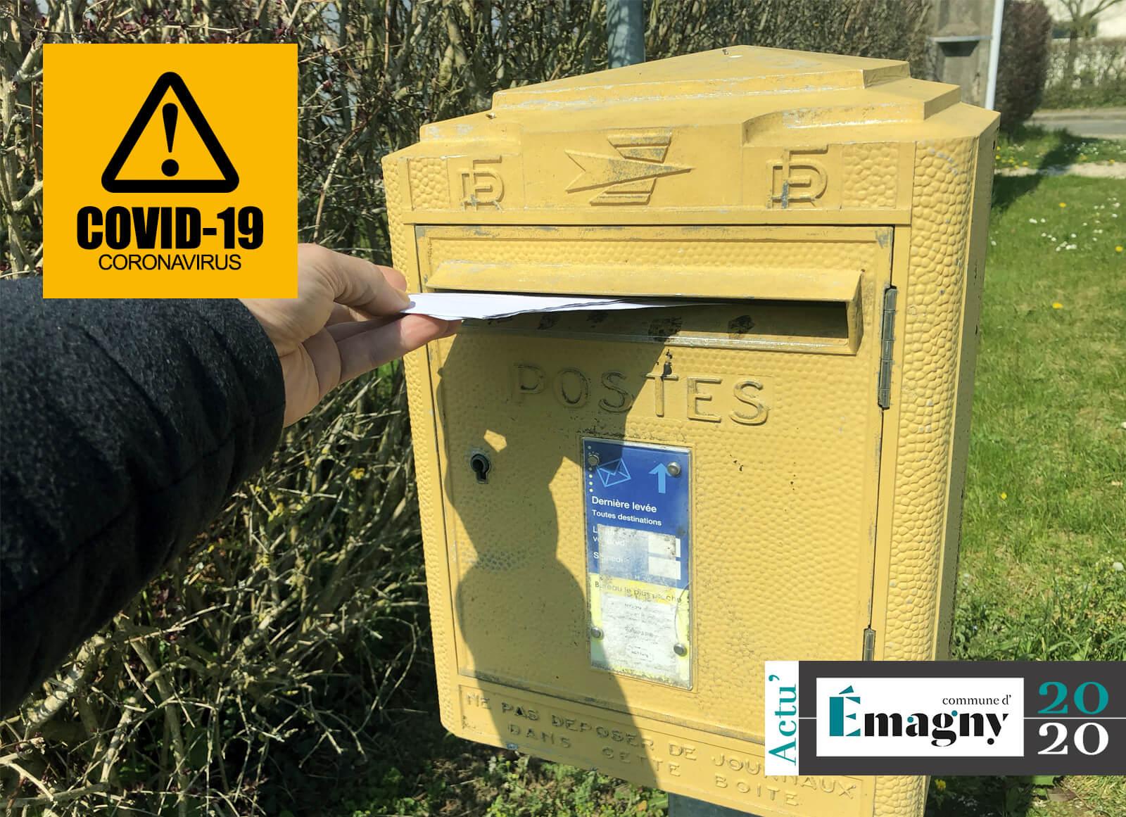 La distribution du courrier