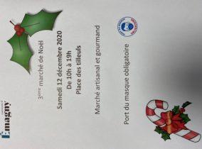 Marché de Noël – 12 décembre 2020